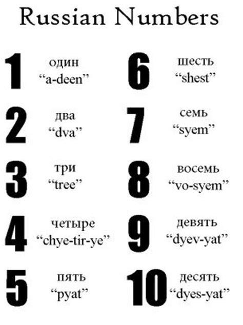 printable ukrainian alphabet russian numbers 1 to 10