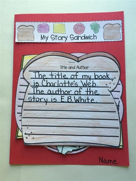 Story Sandwich Book Report by Best 25 Story Elements Activities Ideas On Reading Comprehension Activities Story