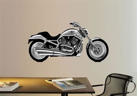 harley davidson wall stickers harley davidson side transport printed wall sticker