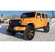 Lifted 2012 Jeep Wrangler From RTXC In Winnipeg MB