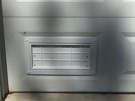 Garage Door Vents by Flood Flaps Flood Ventsflood Flaps Garage Door Flood Vents