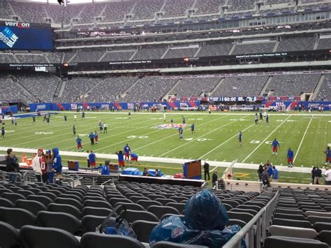 section 149 metlife stadium giants jets metlife stadium section 111c rateyourseats com