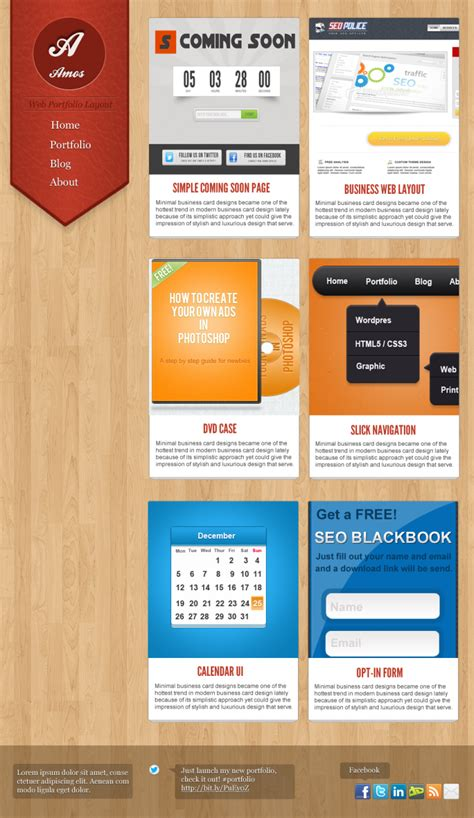 layout portfolio photoshop how to create an awesome portfolio layout in photoshop