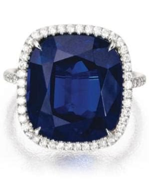 Sapphire Doreen chaumet a sapphire and ring from chaumet s new