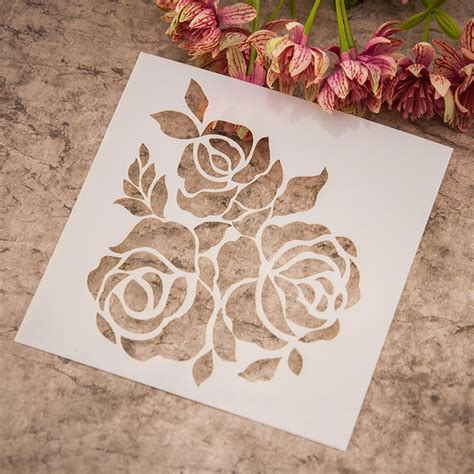 painting templates stencils popular flower drawing templates buy cheap flower drawing