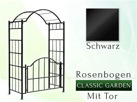 Pergola Mit Tor by Rosenbogen Quot Classic Garden Quot Mit Tor Rosenbogen
