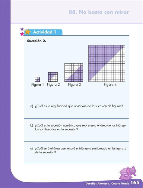 issuu libro de matemticas contestado desafios matematicos alumnos 4 186 cuarto grado primaria by