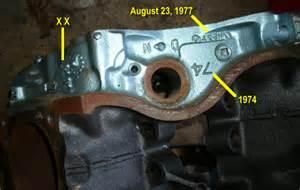 Pontiac Engine Identification Pontiac Engine Block Identification Pontiac Hunters