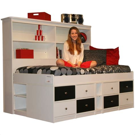 Captain Bunk Bed With Storage Captains Bunk Bed With Storage Woodworking Projects Plans