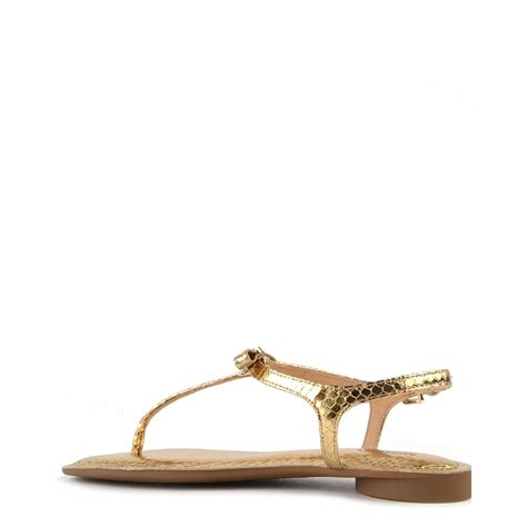 michael kors sandals gold michael michael kors josie metallic pale gold python