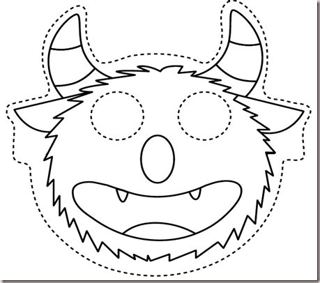 monster inc sully head coloring sheet coloring pages