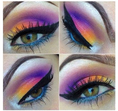 colorful eye makeup mugeek vidalondon