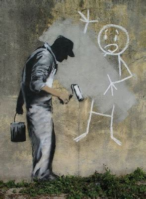 banksy painting facts april 2012