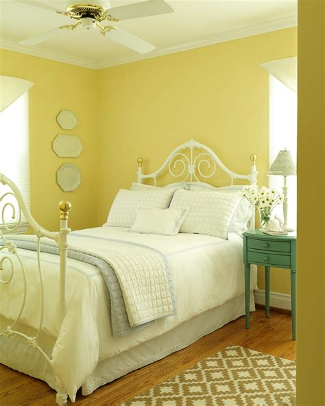 Yellow Bedroom by Yellow Cottage Bedroom Photos Hgtv