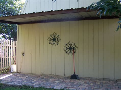 House Awnings With Sides Side San Antonio Attached Steel Home Awning