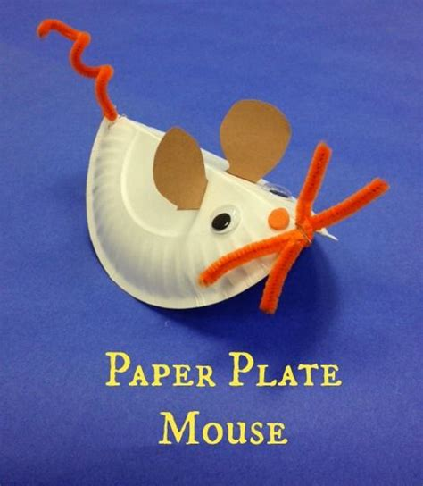 Mouse X Craft paper plate minnie mouse craft craftbnb