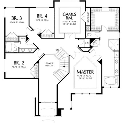 grand floor plans grand manor floor plan 69066am 2nd floor master suite