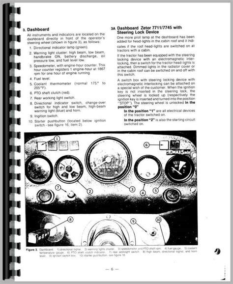 zetor 5211 wiring diagram zetor repair manual pdf