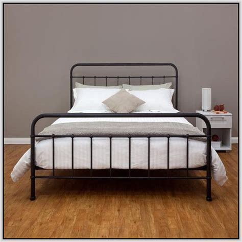 black metal bed frame 17 best ideas about metal bed frames on metal