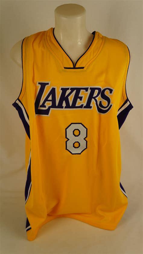 Jersey Basketball Lakers Original lot detail bryant vintage los angeles lakers