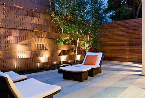 backyard privacy wall 5 backyard fence types