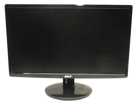Monitor Lcd Dvi acer s201hl 20 quot 5ms hd led lcd monitor vga dvi