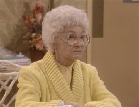 golden girls sophia petrillo from the golden girls is not impressed