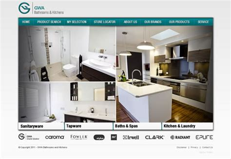 gwa kitchens and bathrooms gwa group launches new corporate bathrooms kitchens website
