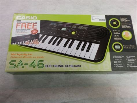 Casio Keyboard Mini Sa 46 casio sa 46 mini keyboard in galway city centre galway from creators galway