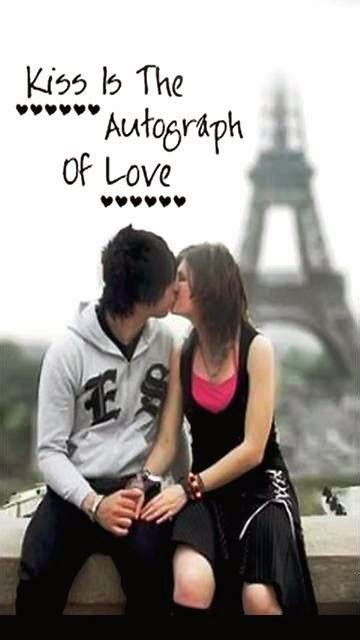 couple wallpaper with quotes for mobile love kissing mobile wallpaper