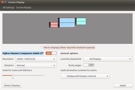 how to configure displaylink displays on ubuntu