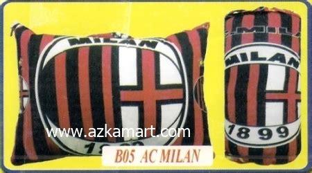 Bedcover Ac Milan distributor bantal selimut toko selimut sprei bedcover