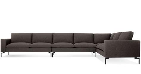 blu dot sectional new standard large sectional sofa hivemodern com