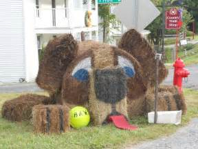 decorative hay bales 17 best images about hay bale decorating on