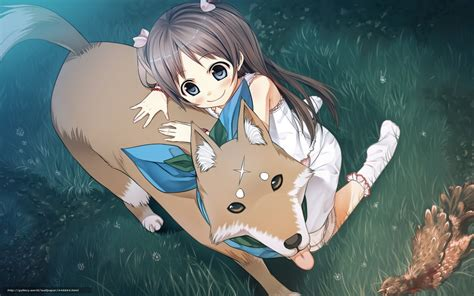 anime puppy anime wallpaper