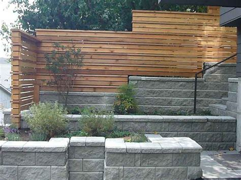 Fencing And Retaining Walls Mukilteo Seattle Everett Garden Wall Fencing