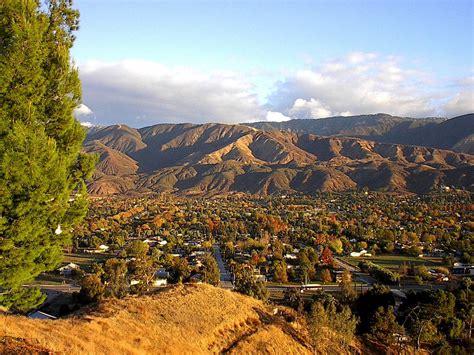 San Bernardino Ca Search San Bernardino Ca End Of San Bernardino Looking From Mountian