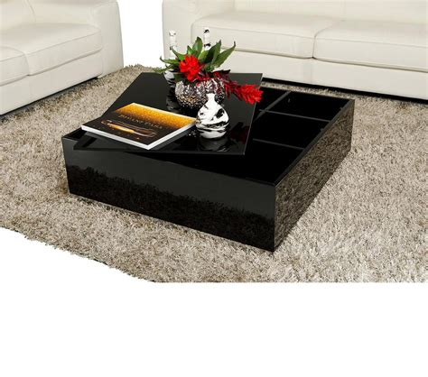 Modern Coffee Table With Storage Dreamfurniture Modern Coffee Table With Storage 857ct