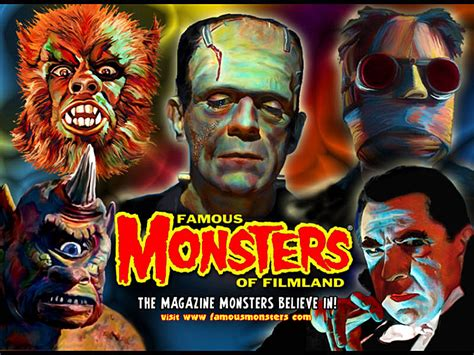 Classic Monster Wallpaper | monster wallpapers harvest time desktops free horror