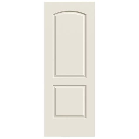 Interior Door Lowes Shop Reliabilt Continental Primed Hollow Molded Composite Slab Interior Door Common 30 In