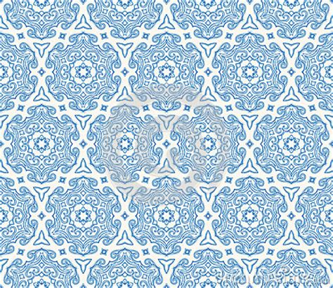 blue islamic pattern beautiful blue hexagonal pattern stock photos image