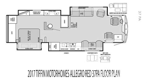 tiffin rv floor plans tiffin motorhomes class a rvs coaches lazydays rv
