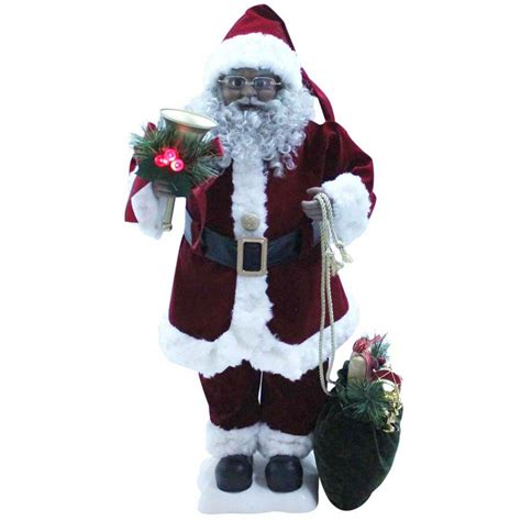 shop holiday living musical animatronic freestanding santa