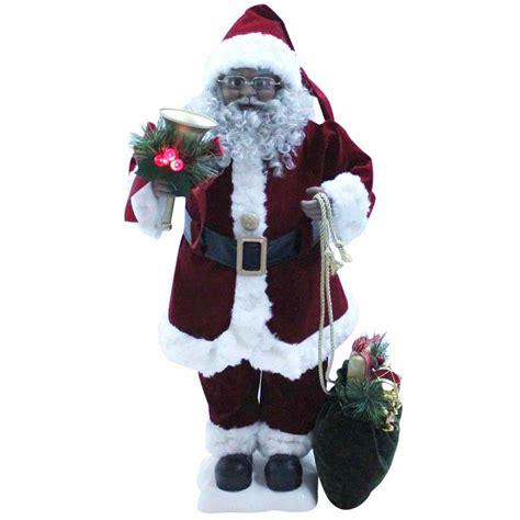 shop holiday living musical animatronic freestanding santa