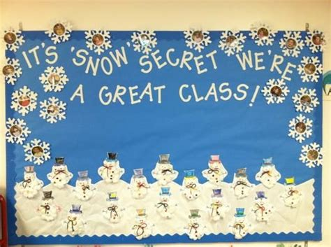 i have found my winter bulletin board for the headstart