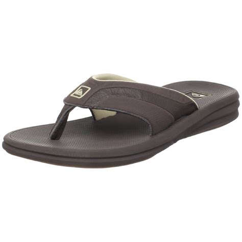quiksilver sandals quiksilver mens session 2 athletic sandal in brown for