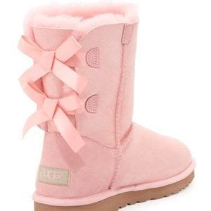 Summerfincor Boot Sunsh Baby Pink 51 ugg boots iso baby pink bailey bow uggs from s closet on poshmark