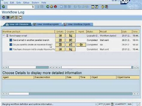 fork step in sap workflow how to model parallel branching fork in sap workflow