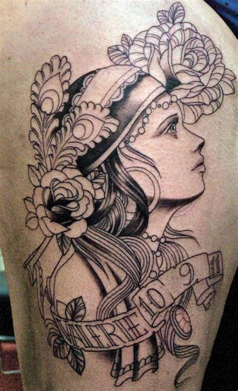 gypsy girl tattoo design 26 best images about ideas on