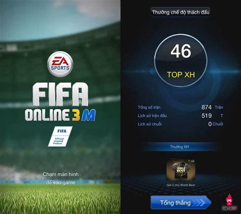 mod game fifa online 3 rộ nghi vấn hack mất kết nối trong fifa online 3 mobile